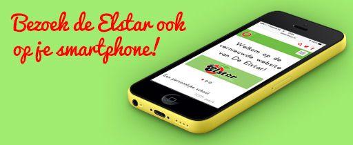 Bekijk onze website ook op je smartphone!